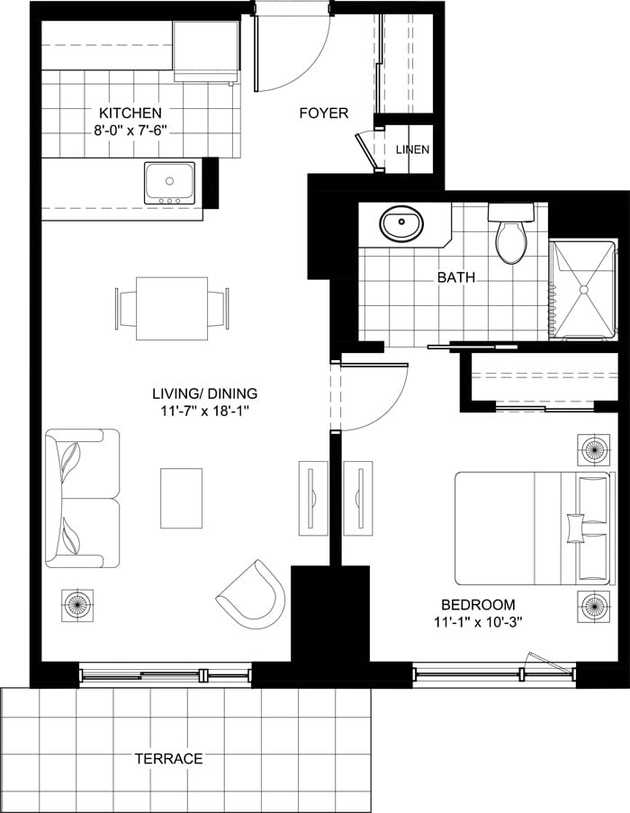Stirling Park Centrepoint Condo Floor Plans