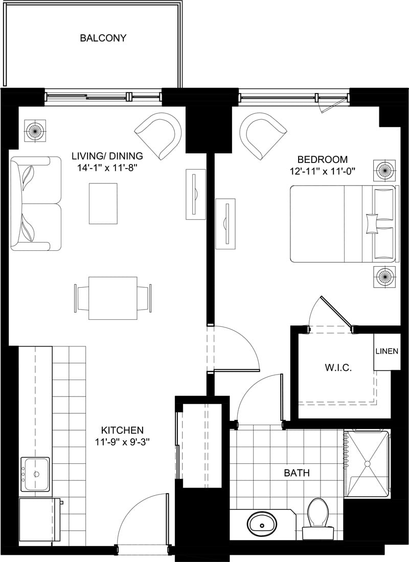 Stirling Park Fisher Condo Floor Plans