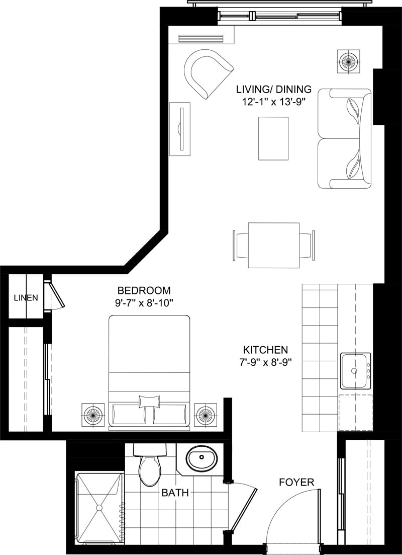 Stirling Park Brewer Condo Floor Plans